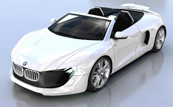Концепт футуристичного родстера BMW X MPower