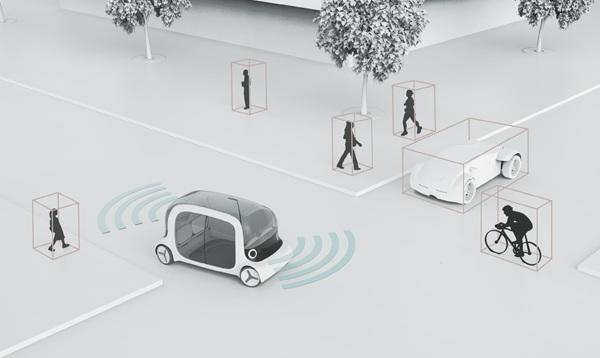 BOT способен без проблем передвигаться по загруженным улицам городов