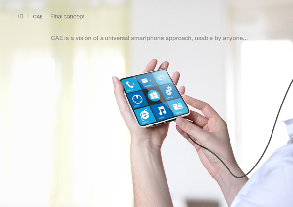 Концепт смартфона CAE