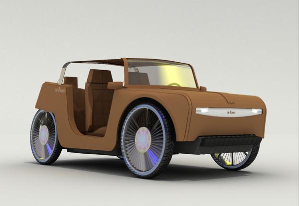 Картонный автомобиль carDboard