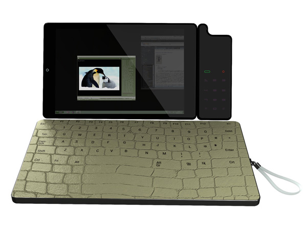 Концепт планшета-ноутбука Digital Skin