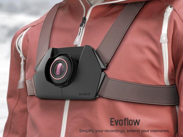 Концепт камеры для экстремалов Sony Evoflow