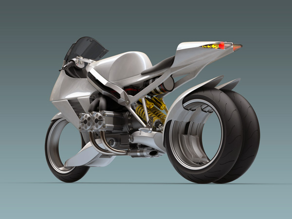 FB R2000S основан на мотоцикле BMW R1200S