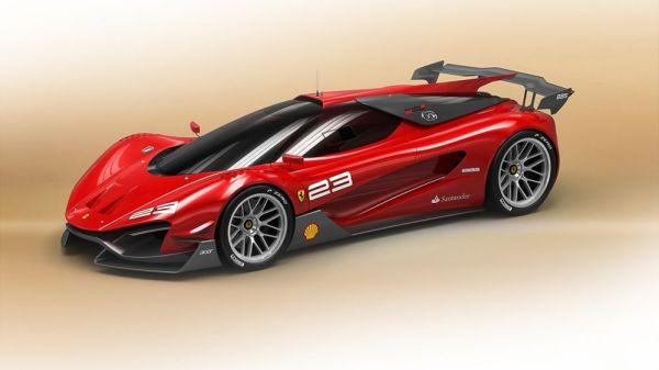 концепт автомобиля будущего феррари