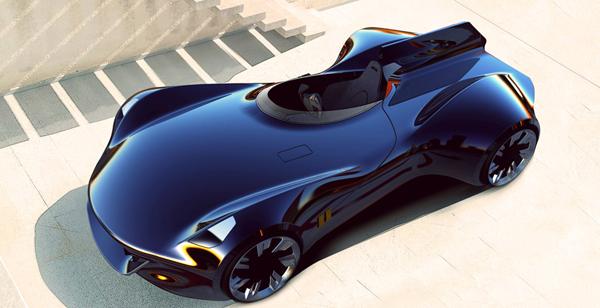 Концепт суперкара Jaguar XK-I