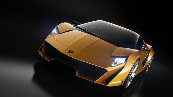 Концепт суперкара Lamborghini Querderro
