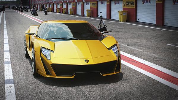 Lamborghini Querderro имеет отголоски дизайна старых суперкаров