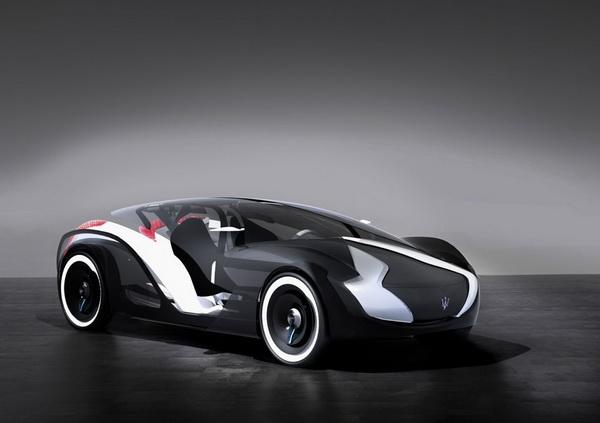 Концепт экологичного суперкара Maserati Tramontane