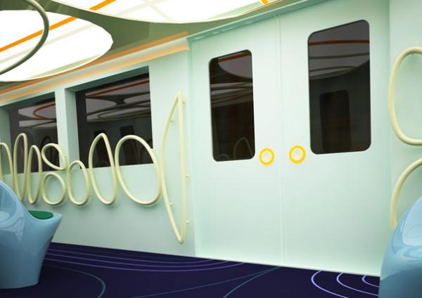Стены и двери вагона Metrocar