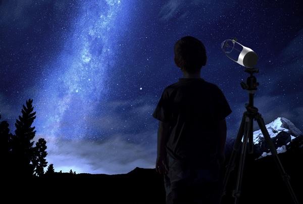 Концепт любительского телескопа Newton