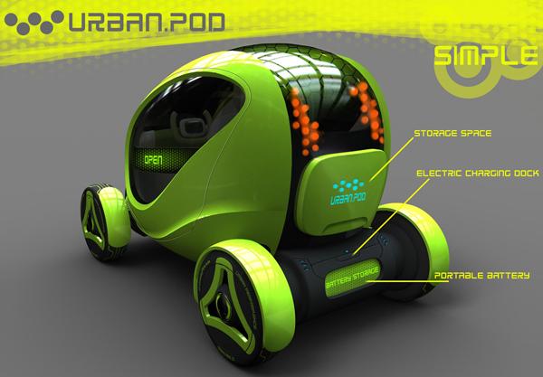 В Urban Pod достаточно найдется места для багажа