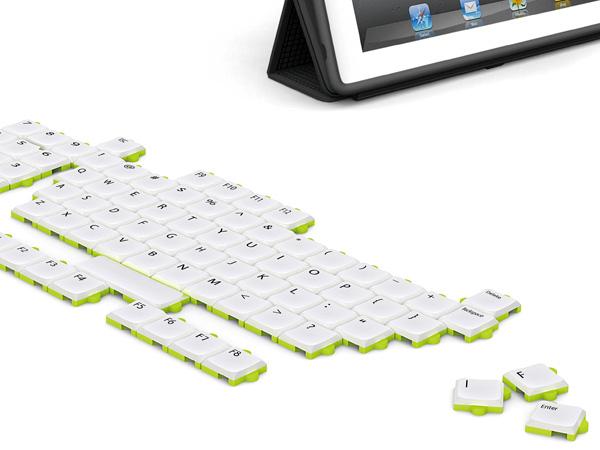 Модульная клавиатура Puzzle Keyboard