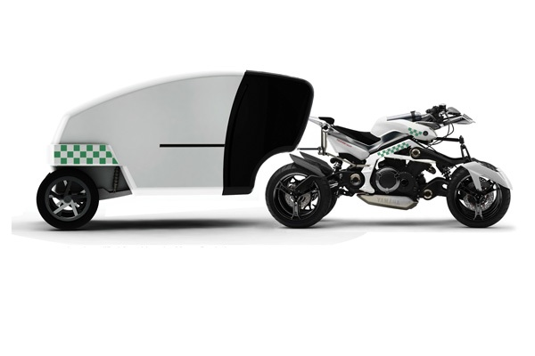 Концепт мотоцикла скорой помощи R-aid