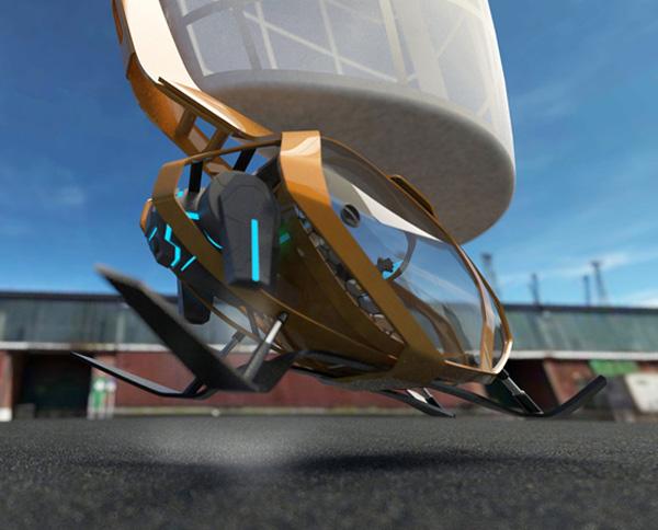 Концепт футуристичного глайдера Sky Voyage