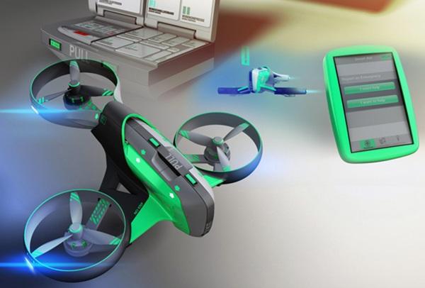 Концепт дрона Smart Aid