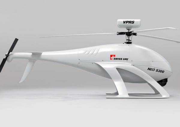 Концепт беспилотного вертолета от Swiss UAV