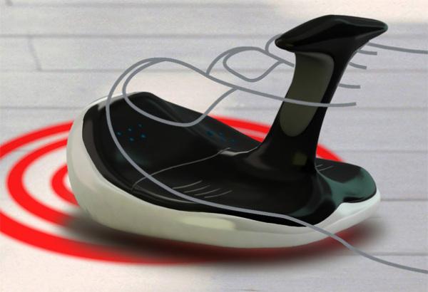 Мышь-тапочек от дизайнера Liu Yi