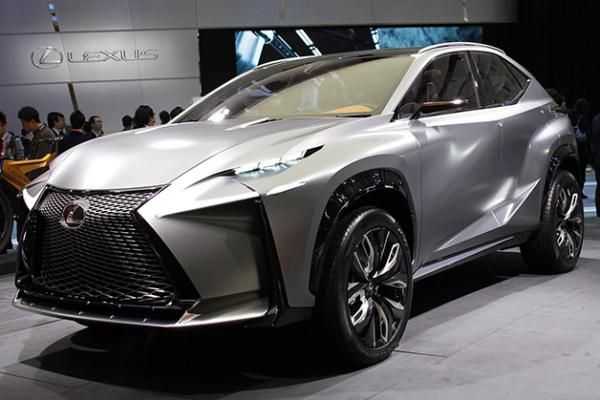 Агрессивный концепт Lexus LF-NX Turbo