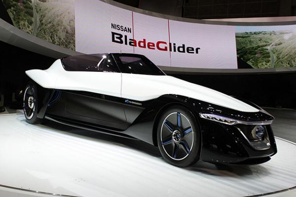 Футуристичный концепт Nissan BladeGlider