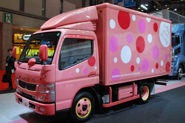 Женский грузовик Mitsubishi Fuso Canter