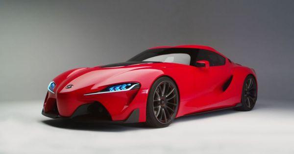 Концепт-кар Future Toyota 1