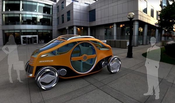 Концепт электромобиля Twinway