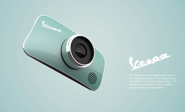 Концепт стильной камеры Vespa