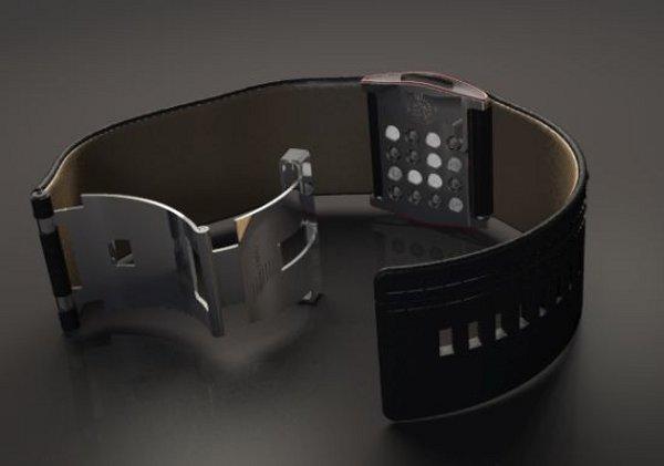Стильные часы Diesel с двухсторонним дисплеем