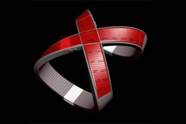 Футуристичные часы X-Watch
