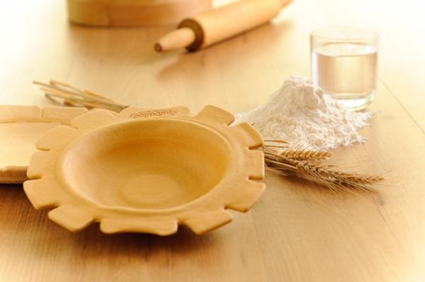 Съедобная тарелка Pappami от Tiziano Vicentini