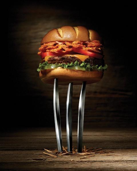 Реклама нового бургера