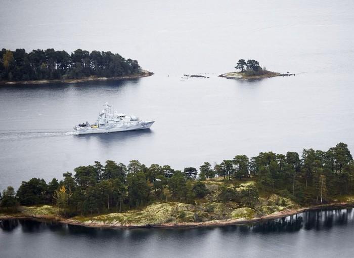 Поиски российской субмарины у берегов Швеции