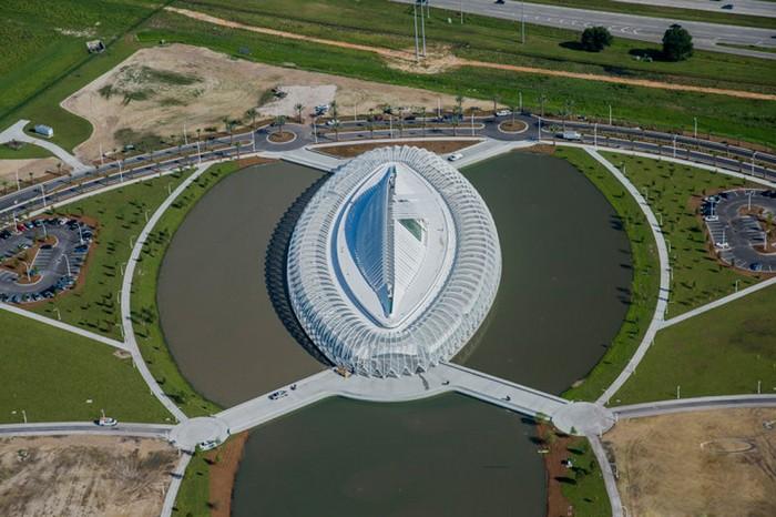 Флоридский Политех – новое архитектурное чудо от Сантьяго Калатравы