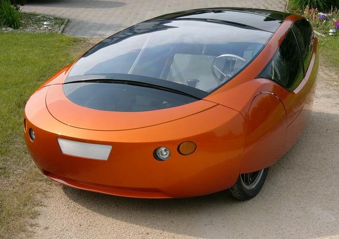 Urbee Hybrid – напечатанный на 3D-принтере автомобиль