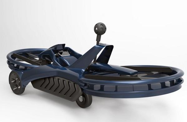 Aero-X – летающий мотоцикл в 2018 году