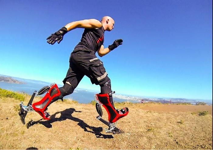 Страусиные ноги. Bionic Boots – необычные ботинки, которые позволят вам разогнаться до 40 км/ч