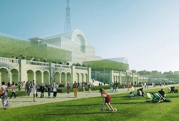 Проект восстановления легендарного Хрустального дворца. Источник фото: thelondoncrystalpalace.com