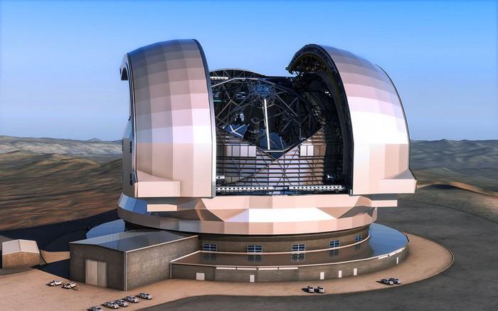 E-ELT в пустыне Атакама – самый большой телескоп на Земле