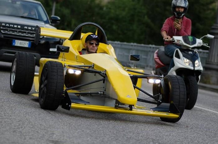 EM01 Stradale Project – гоночный болид для Formula 1 за 10 тысяч долларов