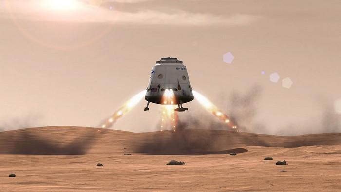 Колонизация Марса компанией SpaceX