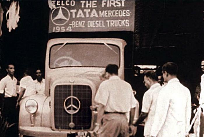 Один из первых автомобилей Tata Motors. Выпущен вместе с компанией Benz