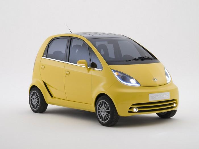Tata Nano - самый дешевый автомобиль в мире
