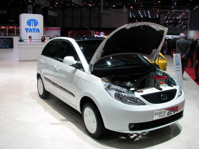 Электрическая версия автомобиля Tata Indica