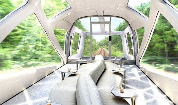 Роскошный поезд от дизайнера Ferrari для японских железных дорог