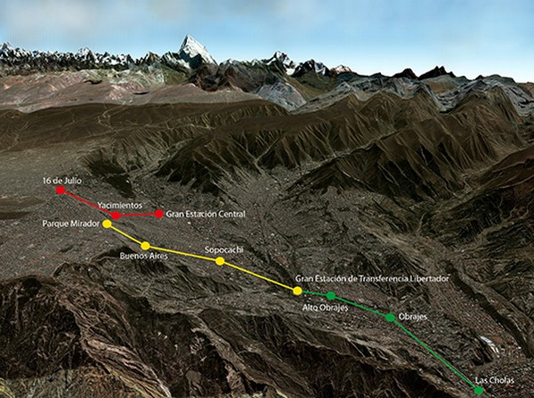 Mi Teleferico – самая длинная в мире линия канатной дороги