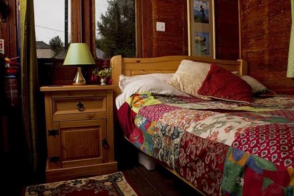 Old Luggage Van – дачный домик в винтажном вагоне. Источник фото: Tiny House Swoon