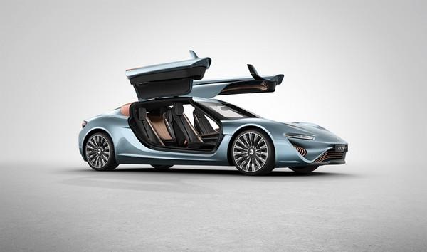Quant e-Sportlimousine – автомобиль, который питается соленой водой