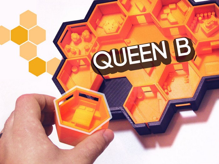 Queen B – сотовый дом на Марсе