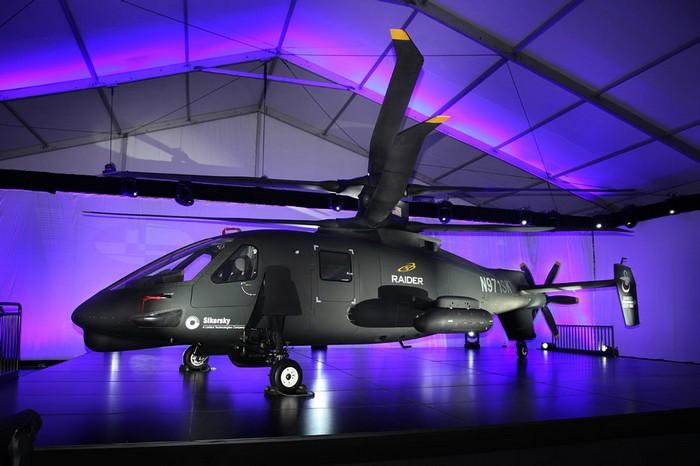 Sikorsky S-97 Raider – супервертолет от легендарной компании Sikorsky Aircraft