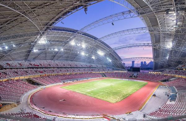 Стадион SportsHub в Сингапуре – самый большой в мире купол